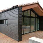 Bardage bois et terrasse