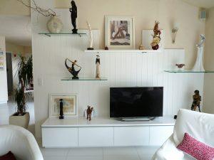 Meuble TV et aménagement mural